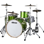 DDrum Dios 3-Piece Shell Pack in Emerald Green (Only Mounting Hardware Included)