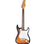 Jay Turser 3/4 Electric Guitar, Tobacco Sunburst