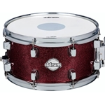 Ddrum Dominion 7x13 Snare Drum, Red Sparkle