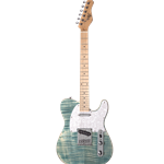 Michael Kelly 1953 Model Electric Guitar, Blue Jean Wash